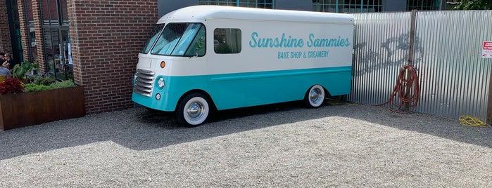 Sunshine Sammies is one of Asheville.