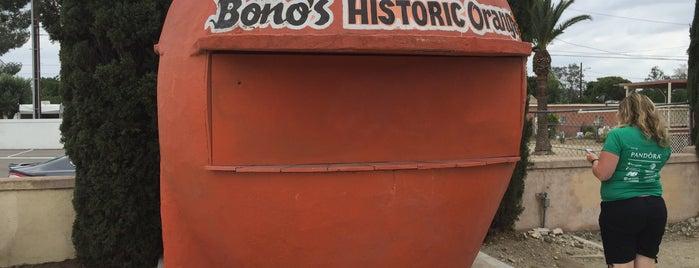 Bono's Historic Orange is one of Route 66 Roadtrip.