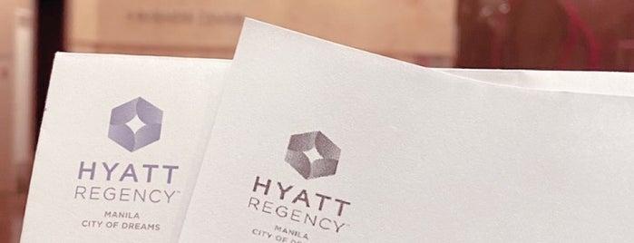 Hyatt Regency Manila, City Of Dreams is one of Lugares favoritos de Jaymee.