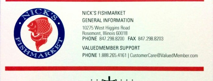 Nick's Fishmarket is one of places I have enjoyed.