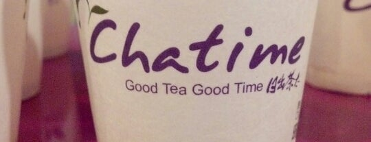 Chatime 日出茶太 is one of Delene 님이 좋아한 장소.