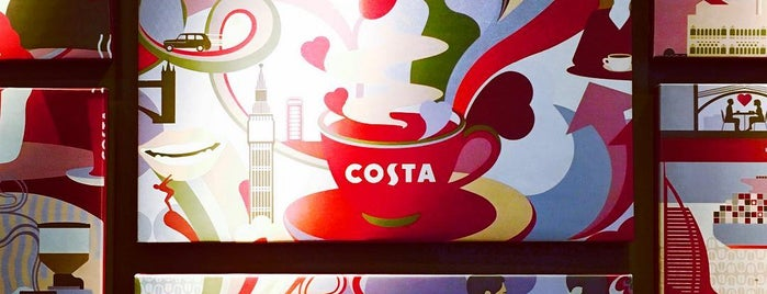 Costa Coffee is one of Lugares favoritos de Antalya.