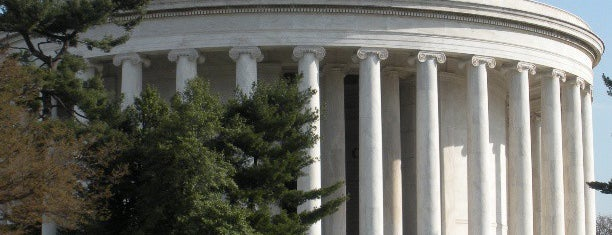 Thomas Jefferson Memorial is one of Washington DC.