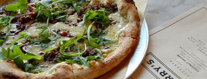 Harry's Pizzeria Coconut Grove is one of Miami.