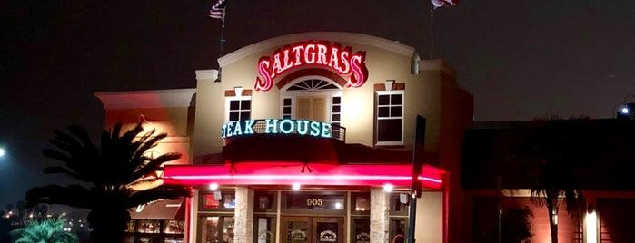 Saltgrass Steakhouse is one of Tempat yang Disukai Travelagent.