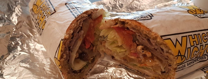 Which Wich? Superior Sandwiches is one of Posti che sono piaciuti a Andres.