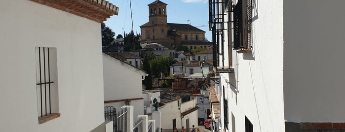 Albaicín is one of granada.