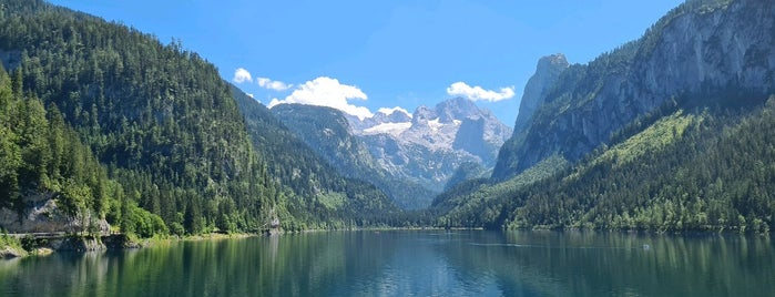 Gosausee is one of Europe.