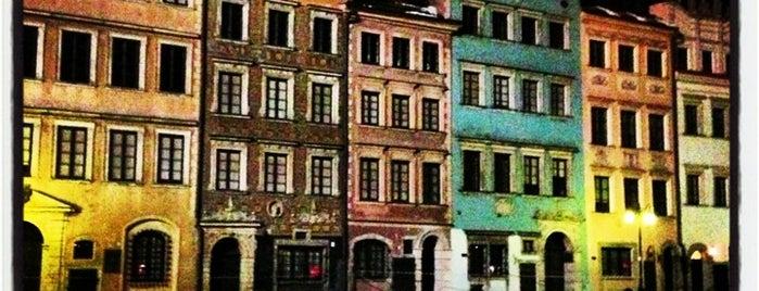 Rynek Starego Miasta is one of Варшава - онлайн путеводитель.