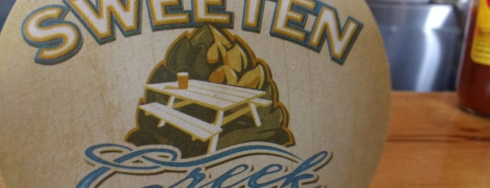 Sweeten Creek Brewery is one of Breweries or Bust 3.