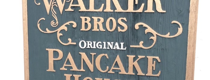 Walker Bros The Original Pancake House is one of Lugares favoritos de Anoosh.