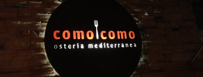 Como Como Osteria Mediterranea is one of playa carmen.