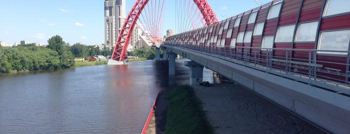 Zhivopisny Bridge is one of Ingeborge 님이 좋아한 장소.