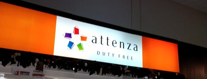 Attenza Duty Free is one of Tempat yang Disukai Ronald.