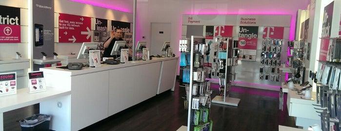T-Mobile is one of Tempat yang Disukai Micah.