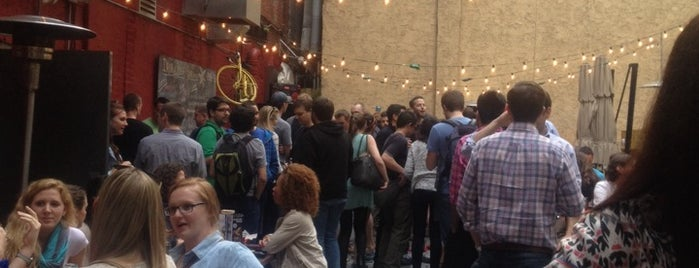 Opa / Drury Beer Garden is one of Center City Sips 2015.