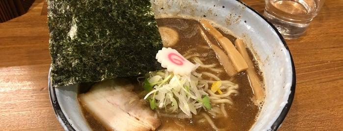 煮干しラーメン てのごい屋 生田店 is one of 麻生区多摩区の ラーメン。.