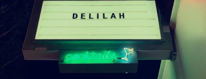 Delilah is one of สถานที่ที่ Sarah ถูกใจ.