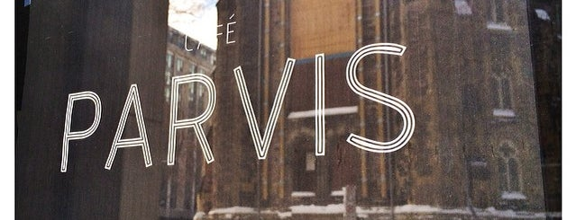 Café Parvis is one of MTL testé.