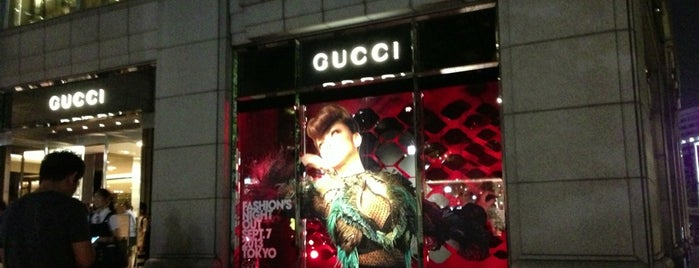 GUCCI is one of Japan.