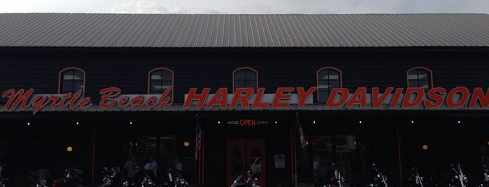 Myrtle Beach Harley-Davidson, L.L.C. is one of Locais curtidos por Mary.