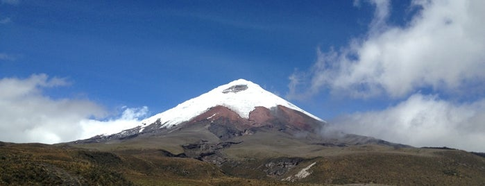 Parque Nacional Cotopaxi is one of Ecuador.