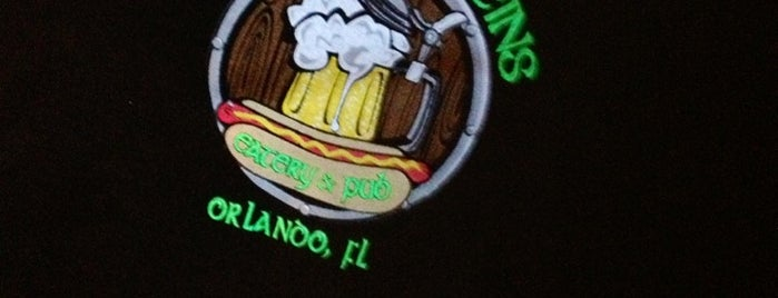 Frank & Steins Eatery & Pub is one of Dining in Orlando, Florida.