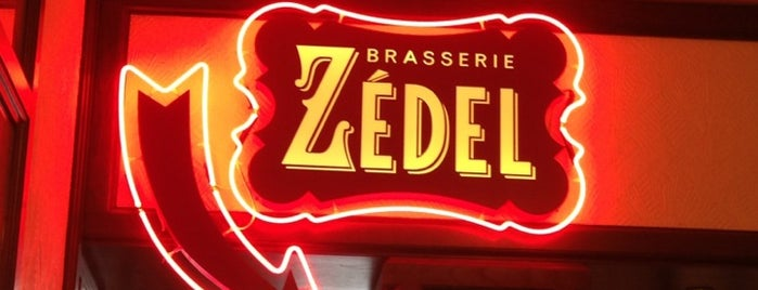 Brasserie Zédel is one of Z.