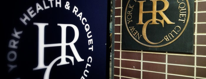 New York Health & Racquet Club is one of Tempat yang Disukai Brandon.