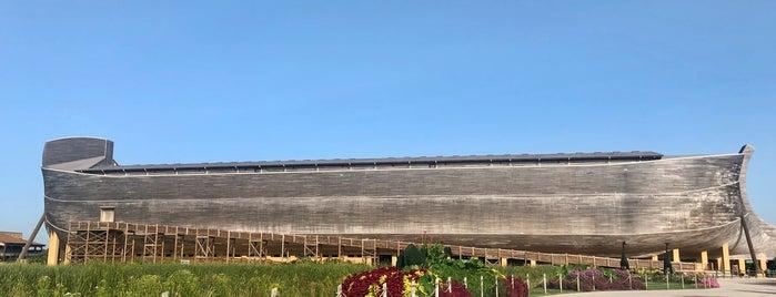 Ark Encounter is one of สถานที่ที่บันทึกไว้ของ Nicholas.