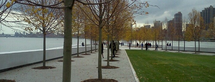 Four Freedoms Park is one of New York.