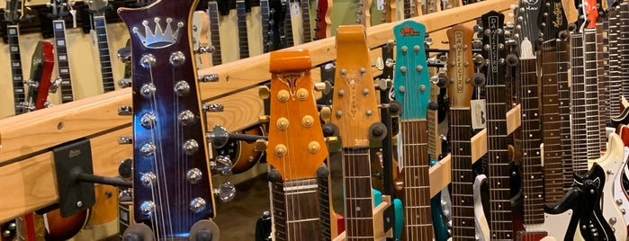 Carter Vintage Guitars is one of Nashville.