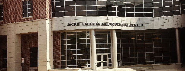 Jackie Gaughan Multicultural Center is one of ouro.