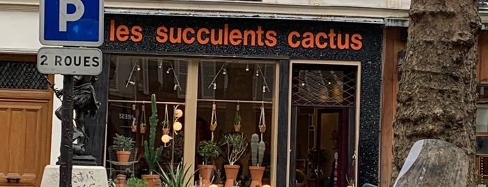Les Succulents Cactus is one of Paris 2017.