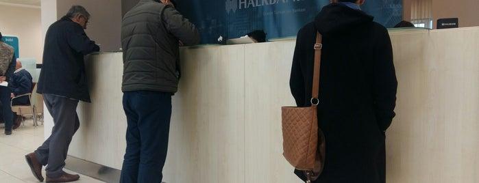 Halkbank is one of Lieux qui ont plu à Nihat.
