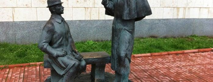 Памятник Шерлоку Холмсу и доктору Ватсону is one of Места, где сбываются желания. Москва.
