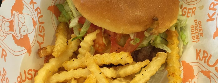 Krusty Burger is one of Lugares favoritos de Kosuke.