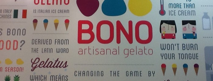 Bono Artisanal Gelato is one of Shankさんのお気に入りスポット.