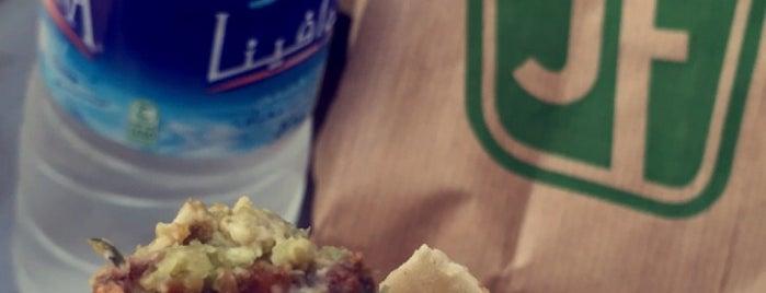 Just falafel is one of Tempat yang Disukai Omar.