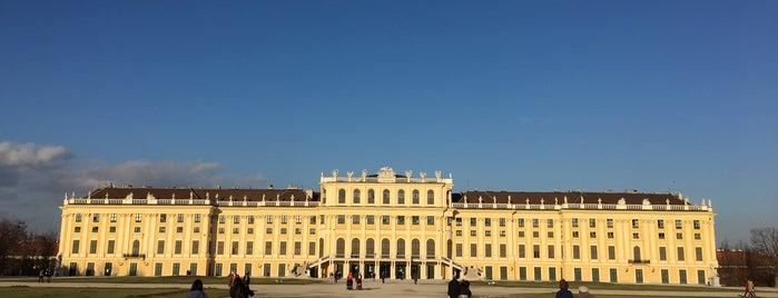 Schloss Schönbrunn is one of Austria and Czech.