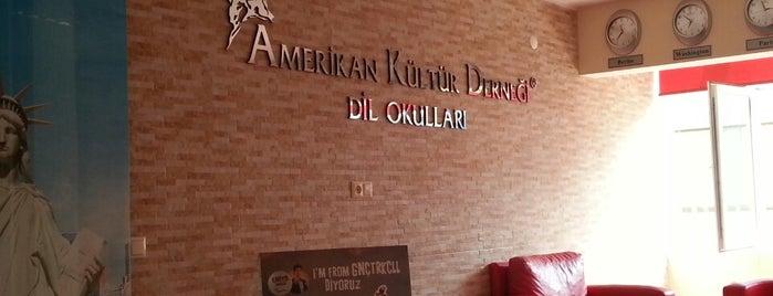 Amerikan Kültür Derneği is one of Kürşat : понравившиеся места.