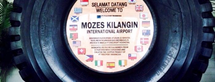 Mozes Kilangin International Airport (TIM) is one of สถานที่ที่ Arie ถูกใจ.