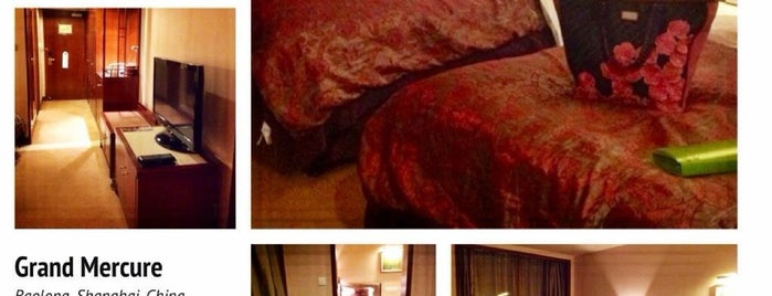 Grand Mercure Baolong Hotel Shanghai is one of Arieさんのお気に入りスポット.