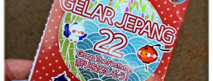 Gelar Jepang UI 22 - 2016 Parkir Timur Senayan is one of Locais curtidos por Arie.