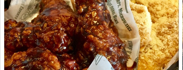WING•STOP is one of Locais curtidos por Arie.