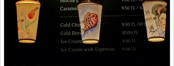 EspressoLab is one of Arie : понравившиеся места.