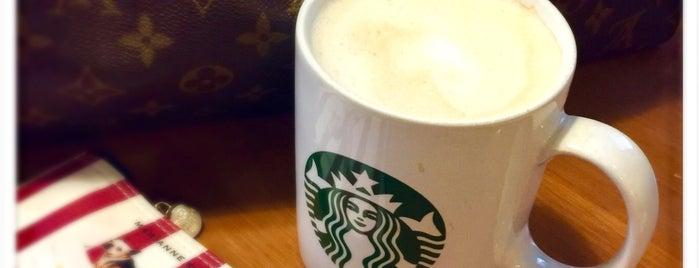 Starbucks is one of Orte, die Arie gefallen.