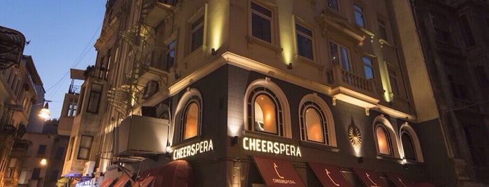 Cheerspera is one of Beyoglu.