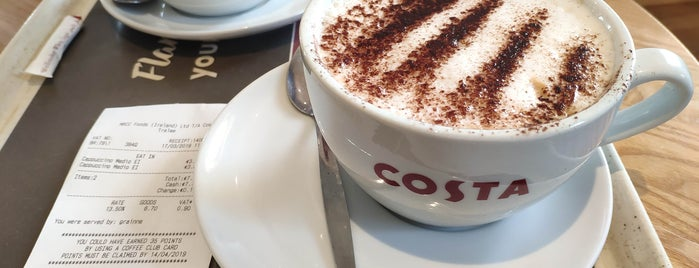 Costa Coffee is one of Tempat yang Disukai Will.