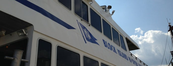 The Block Island Ferry is one of Matty 님이 좋아한 장소.